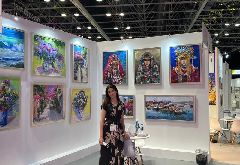 Доблестная армия Азербайджана на World Art Dubai