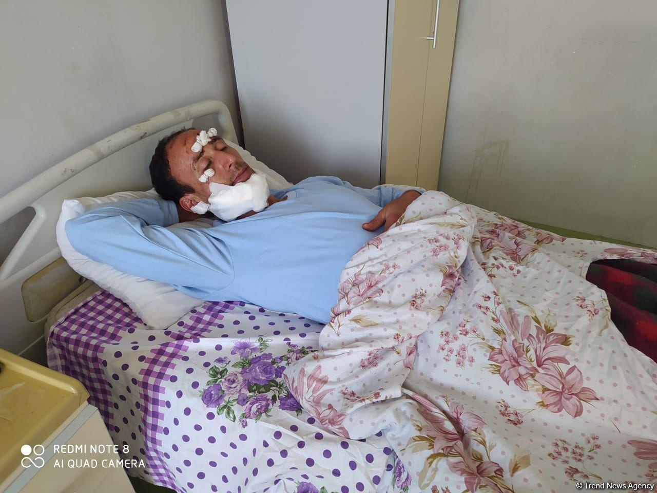 Раненый на похоронах житель Тертера рассказал о деталях армянского обстрела