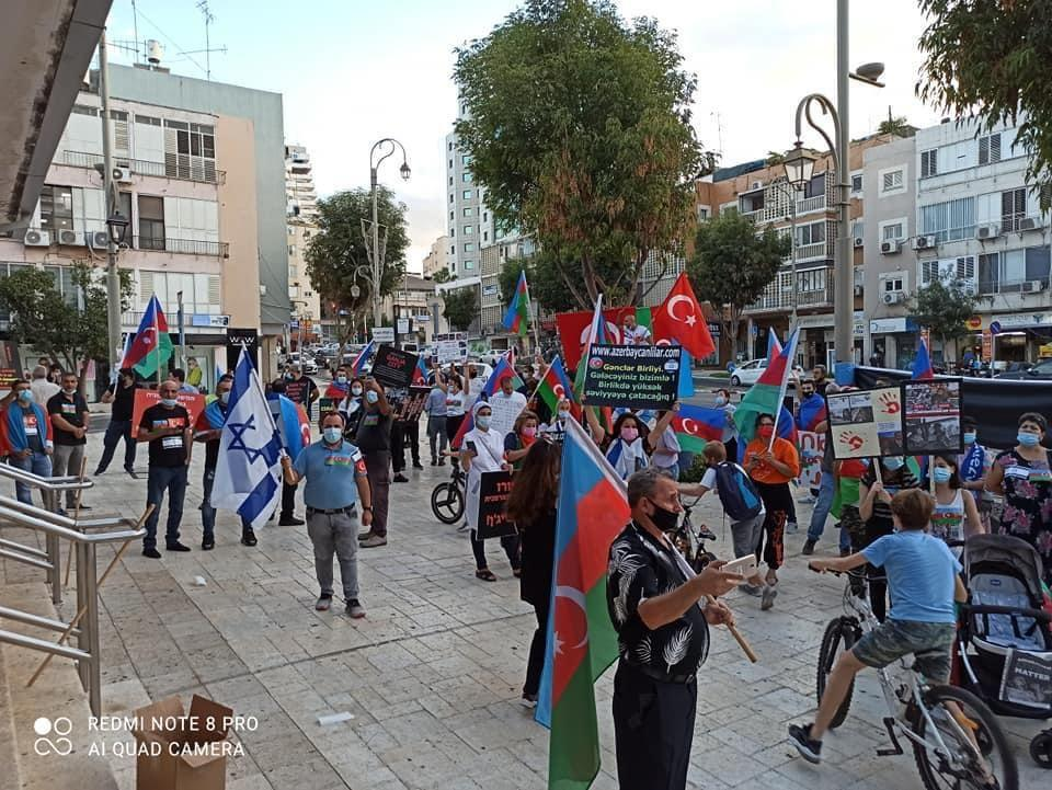 В Израиле прошла акция против провокации Армении