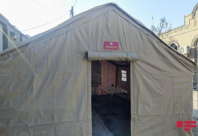 В Гяндже создан временный Оперативный штаб