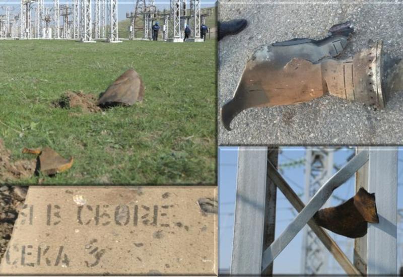 Из-за армянского обстрела на линии электропередачи Азербайджан-Грузия произошла авария