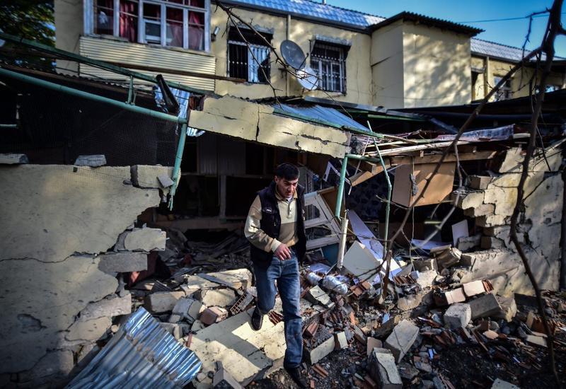 Армения, обстреливая жилые районы Гянджи, показала свою беспомощность
