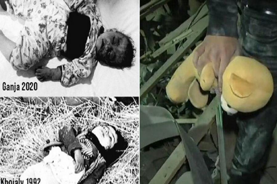 Армения, убивавшая младенцев в Ходжалы, продолжает делать то же самое
