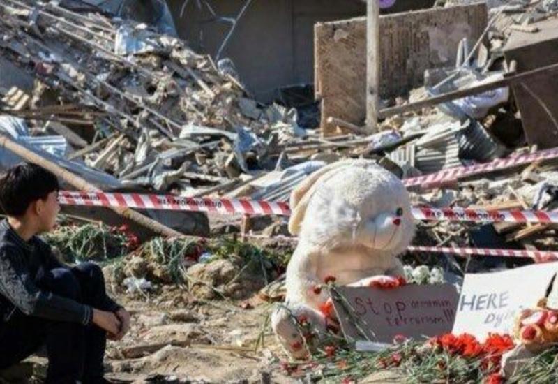 В результате армянских атак на Гянджу погибли 26 человек, среди них 10 женщин, 6 детей