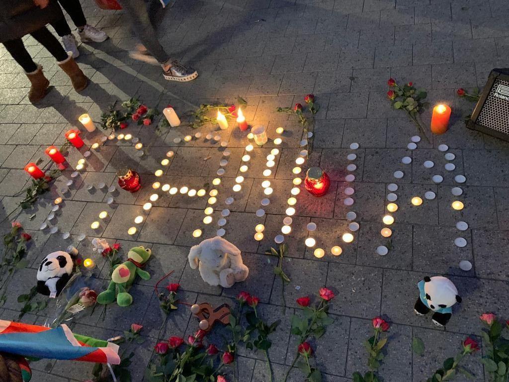 Hannover azərbaycanlıları Gəncə terrorunda həlak olanların xatirəsini yad edib
