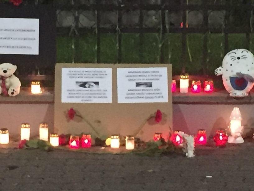 В Латвии чтут память жертв армянской агрессии в Гяндже