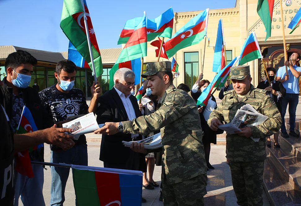 Жители Физулинского района радуются освобождению новых территорий