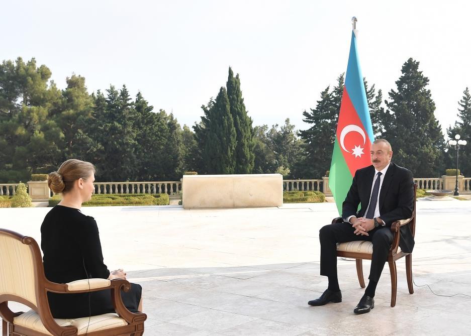 Президент Ильхам Алиев дал интервью российскому информационному агентству ТАСС