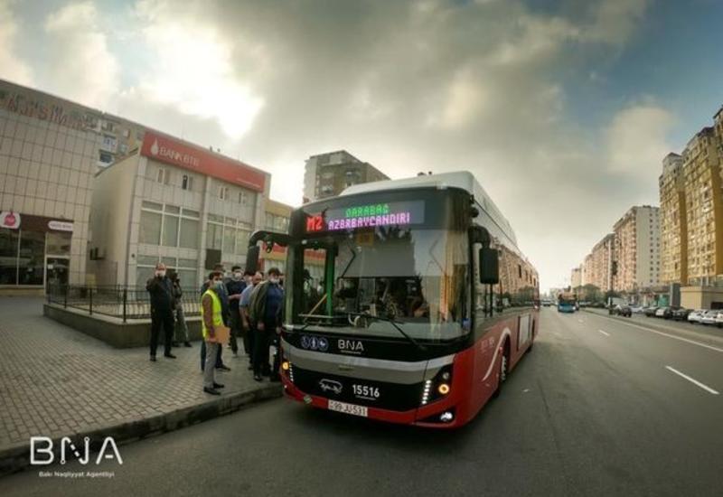 Как будут работать автобусы в Баку