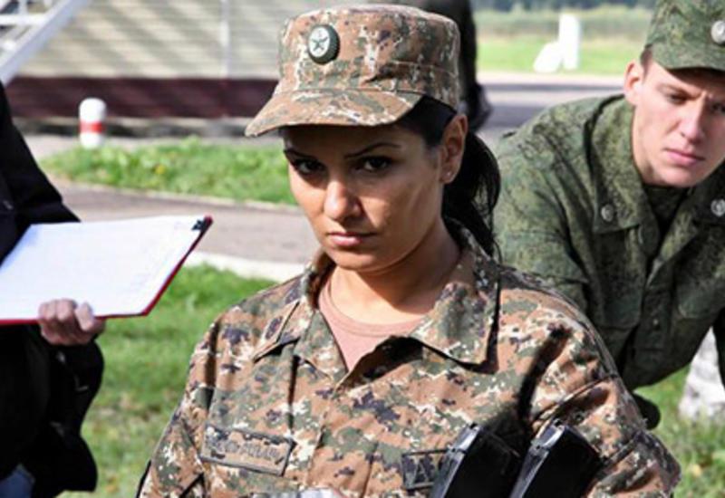 Мужчин не осталось: Армения отправляет на поле боя женщин