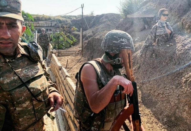 Манекены в помощь армянской армии