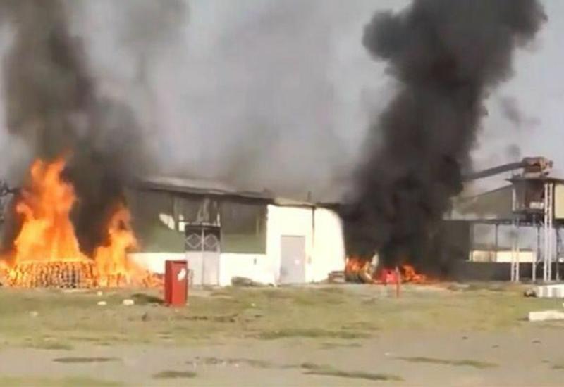 Армения обстреляла завод в Тертере