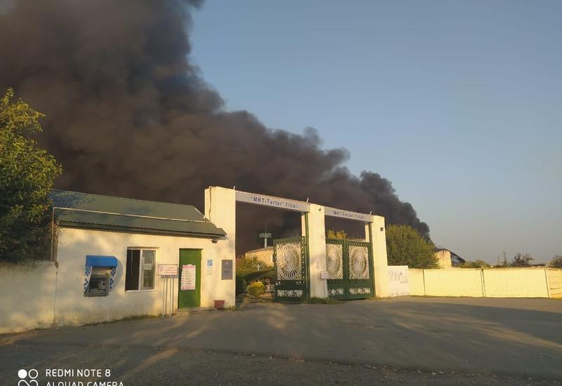 В здание завода в Тертере попал снаряд