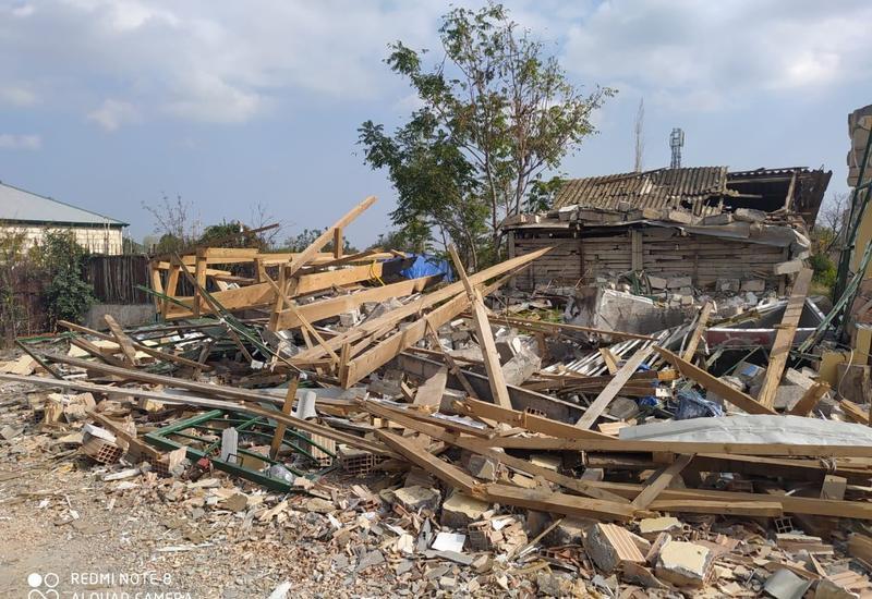 ВС Армении разрушили 119 домов в Тертере