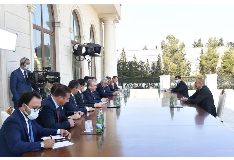 Президент Ильхам Алиев: Каждый день с фронта приходят очень радостные вести