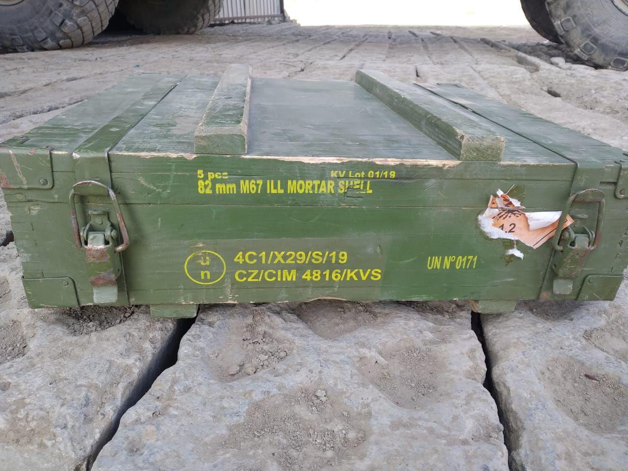 Боеприпасы из Ирака оказались у армян в Карабахе