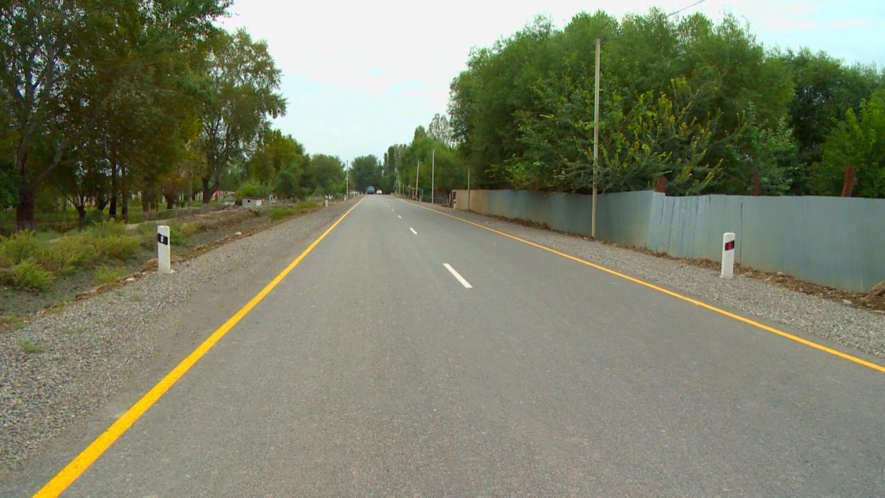 В Зардабе реконструировали автодорогу
