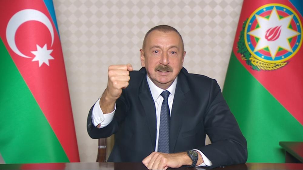 Президент Ильхам Алиев выступил с обращением к народу