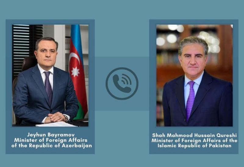 Главы МИД Азербайджана и Пакистана обсудили Карабах