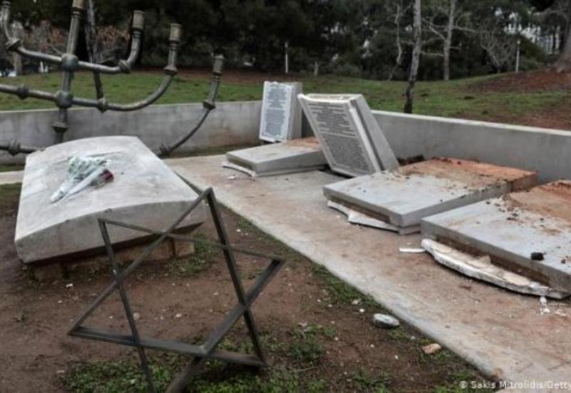 В Греции вновь осквернили еврейские кладбища и памятник жертвам Холокоста