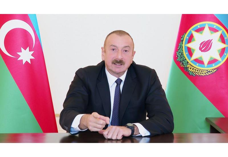 Prezident İlham Əliyev: Azərbaycan döyüş əməliyyatını beynəlxalq birlik tərəfindən tanınan öz ərazisində aparır