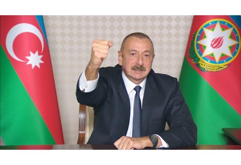 Президент Ильхам Алиев: После этого село Венг будет называться Чинарлы