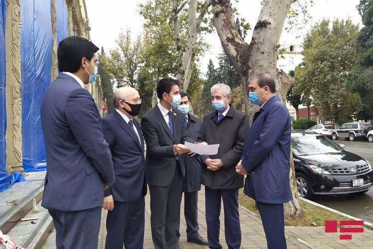 Али Ахмедов посетил Гянджу