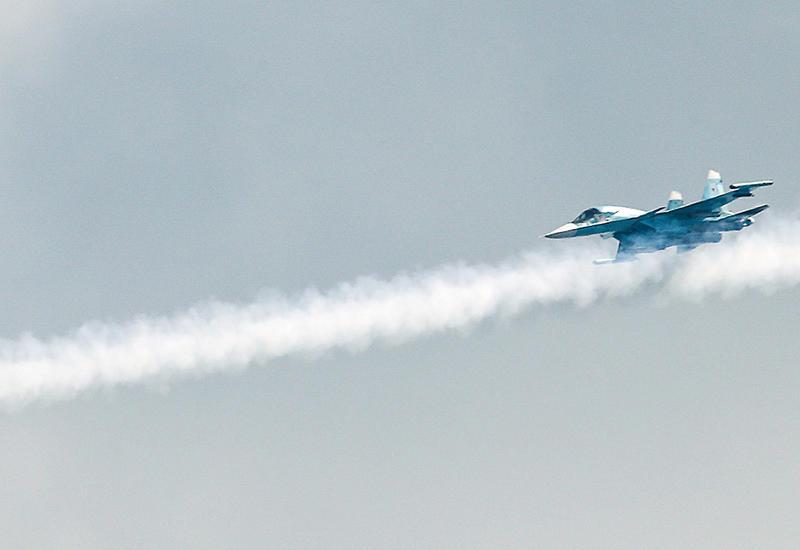В России разбился Су-34