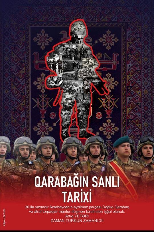 Художники передали в азербайджанский музей патриотические плакаты
