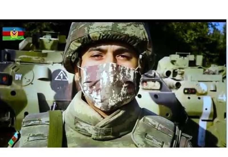 Азербайджанские военнослужащие призвали граждан носить маски