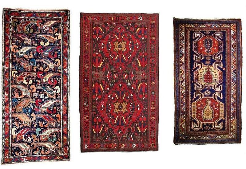 Сотканные в Карабахе ковры