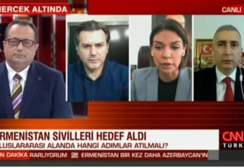Главный редактор АМИ Trend сообщил о продолжающейся напряженности в оккупированном Карабахе в эфире CNN Türk