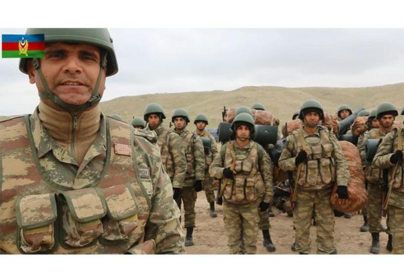 Боевой дух азербайджанского солдата высок