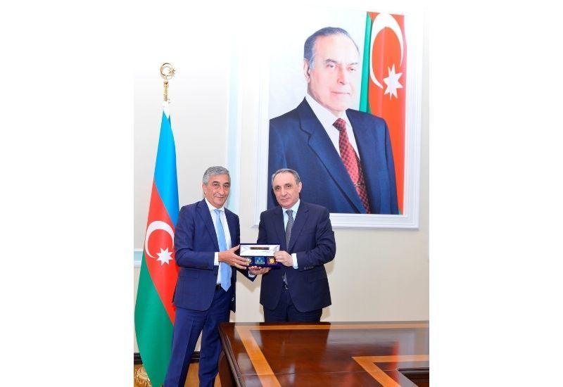 Генеральный прокурор Кямран Алиев встретился c послом Таджикистана
