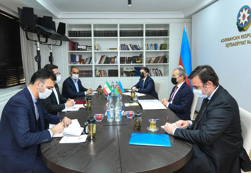 Микаил Джаббаров и посол Ирана в Азербайджане обсудили благоустройство освобожденных территорий
