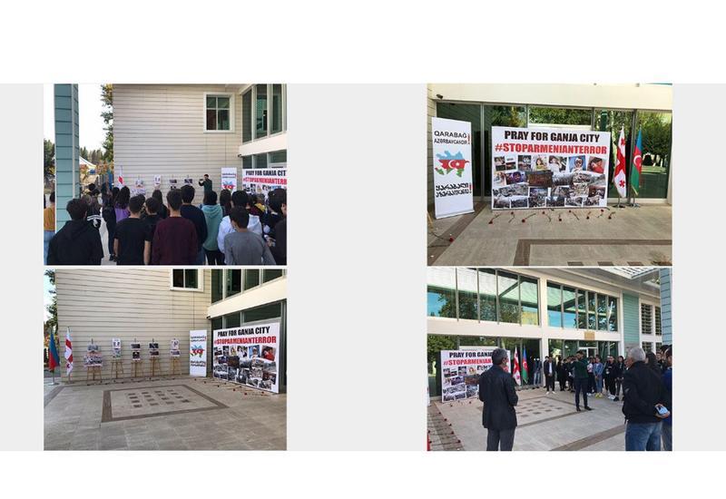 В Грузии почтили память жертв гянджинского террора