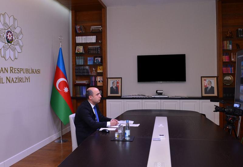 Эмин Амруллаев рассказал об армянской агрессии на заседании ЮНЕСКО