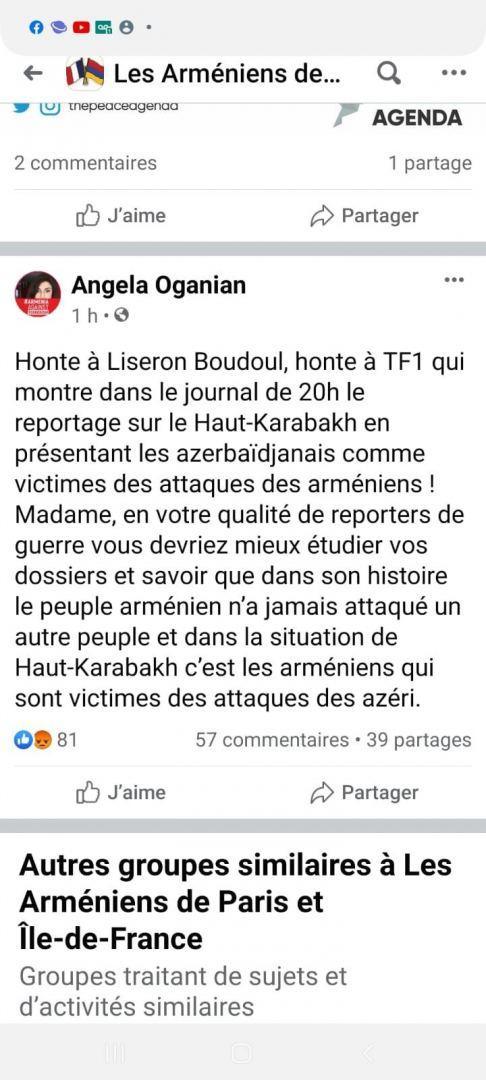 Армяне угрожают убийством французскому тележурналисту