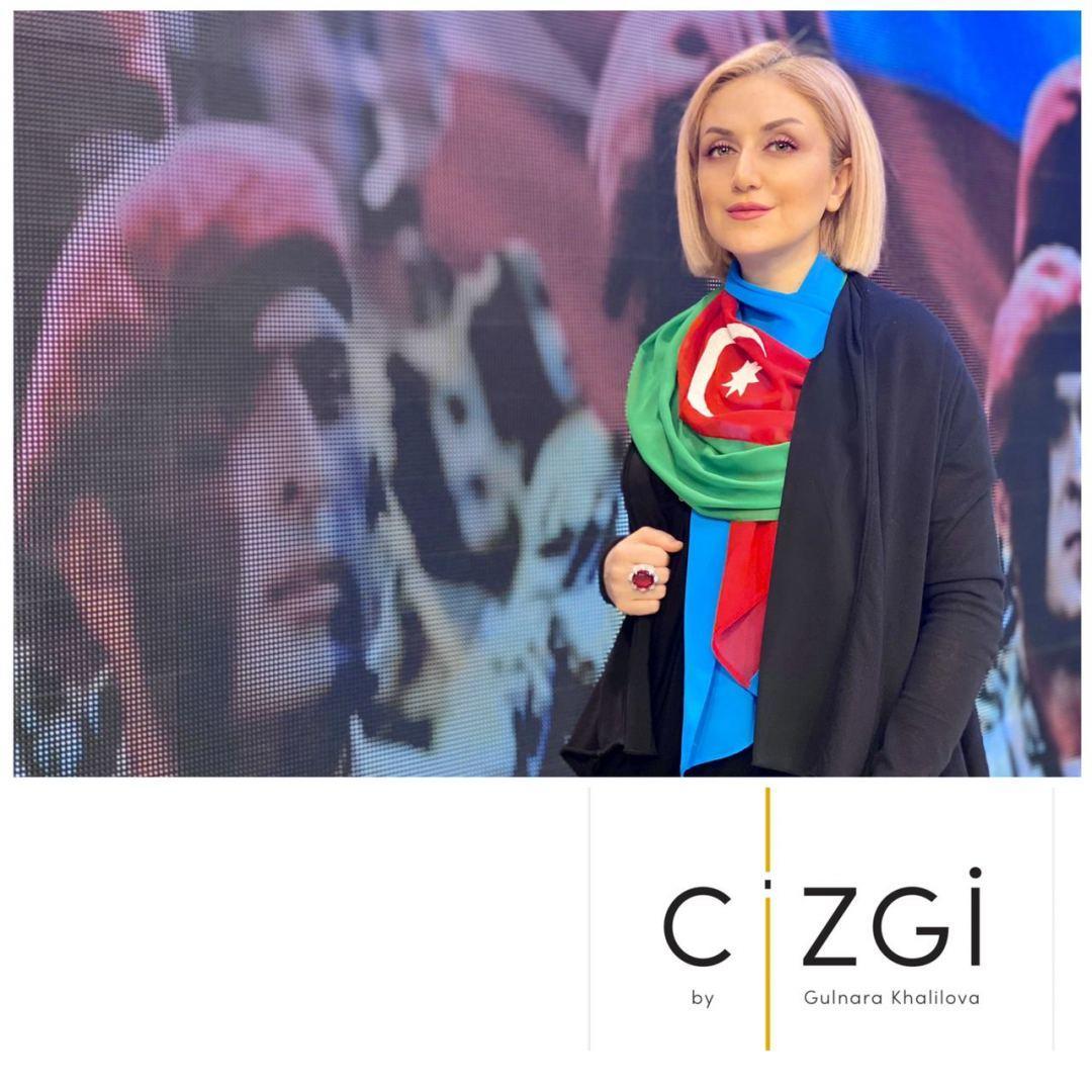 Гюльнара Халилова представила коллекцию в честь освободительной миссии армии Азербайджана