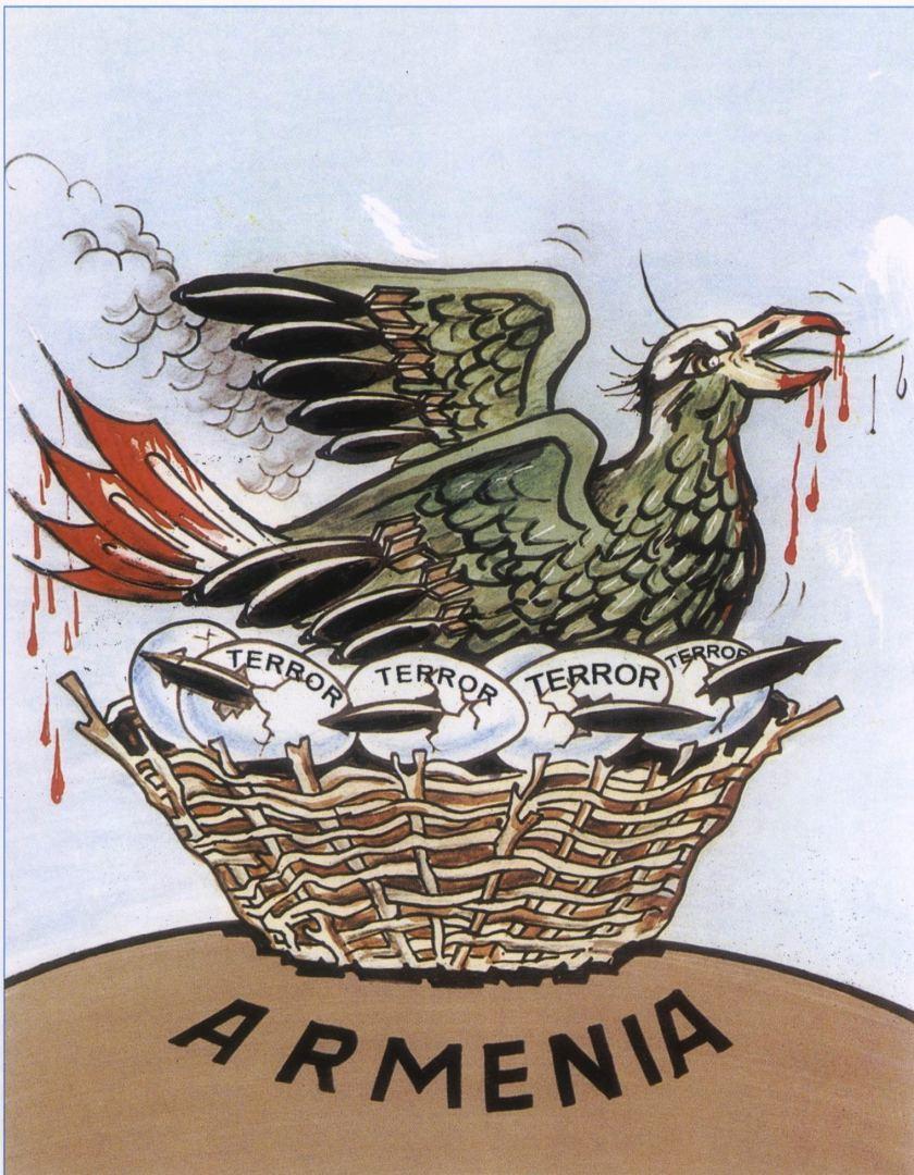 Уродливое лицо армянского фашизма в карикатурах