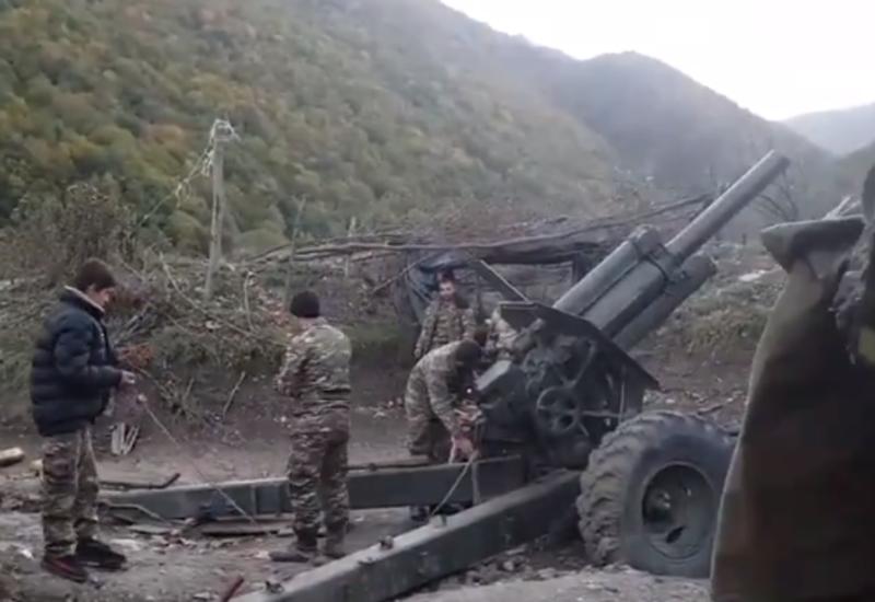 Армяне используют детей в войне в Карабахе