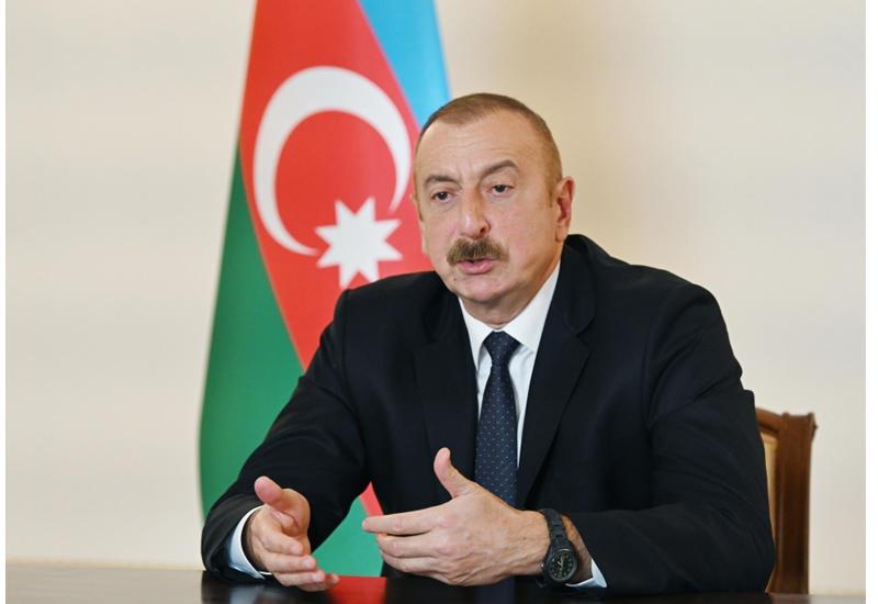 Президент Ильхам Алиев: Для будущего Карабаха наилучшим путем будет проживание в условиях мира, гармонии и стремление вновь стать хорошими соседями