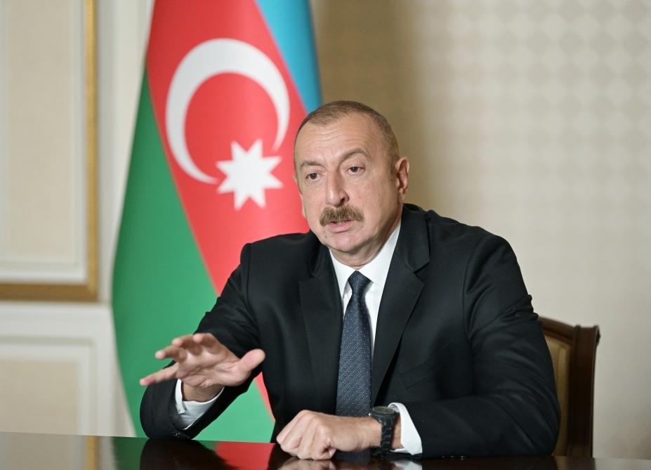 "Президент Ильхам Алиев дал интервью американскому телеканалу ""Fox News"""