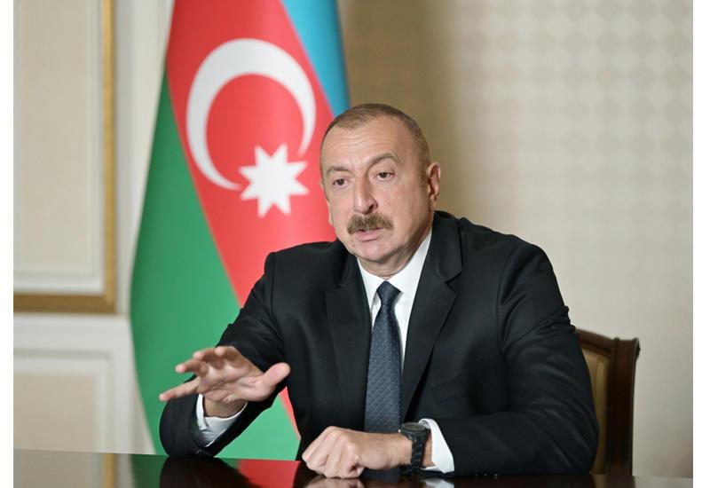 Президент Ильхам Алиев: Работа, которую ведет Президент Трамп по урегулированию конфликта, полностью соответствует международным отношениям