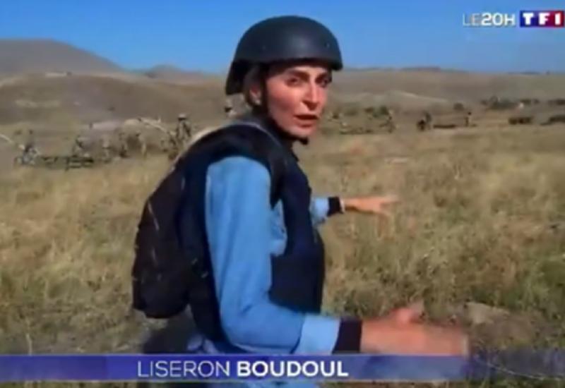 Международный совет журналистов осудил угрозы армян в адрес сотрудницы телеканала TF1 Франции
