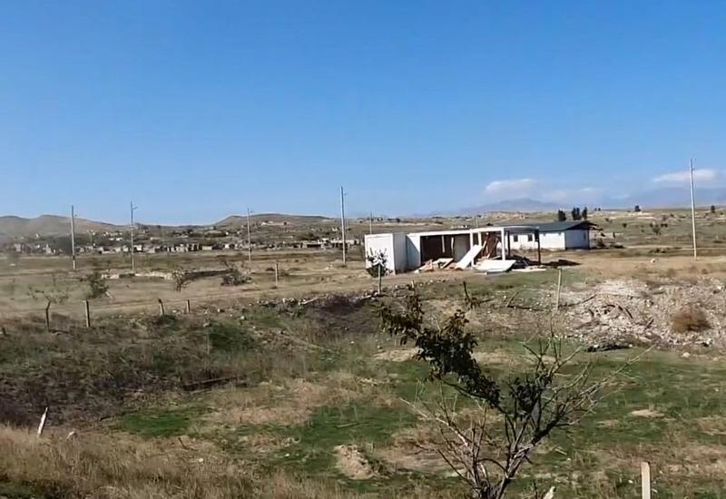 Села Джебраильского и Зангиланского районов, освобожденные от оккупации