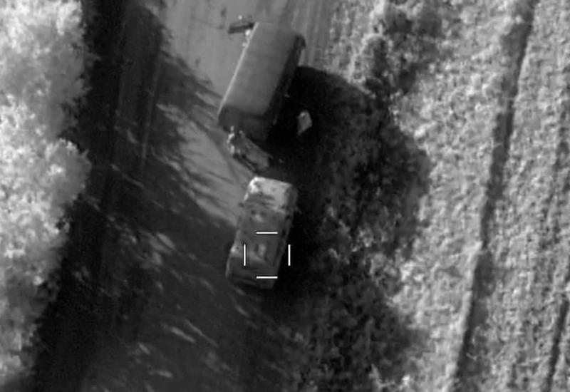 Уничтожены военная техника и снаряды ВС Армении