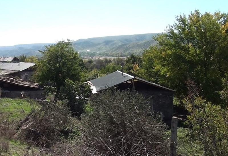 Первые кадры из освобожденных от оккупации сел Губадлинского района