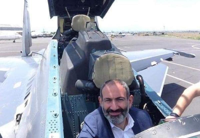 ВС Азербайджана уничтожили армянский истребитель, на фоне которого Пашинян делал селфи