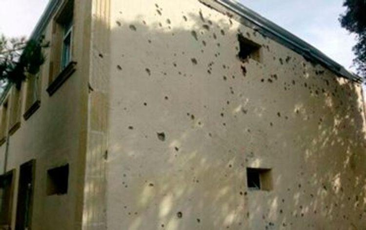 ВС Армении обстреляли школу в Агдаме